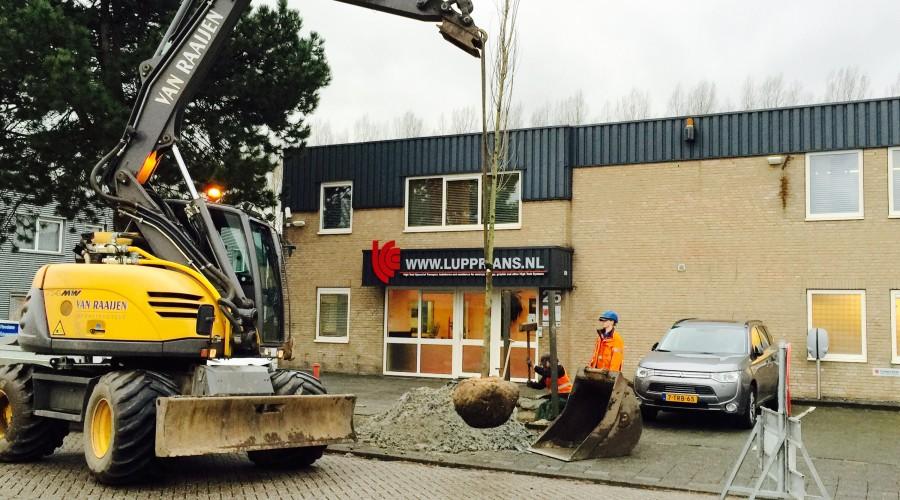 Gemeente Weesp maakt industrieterrein groener