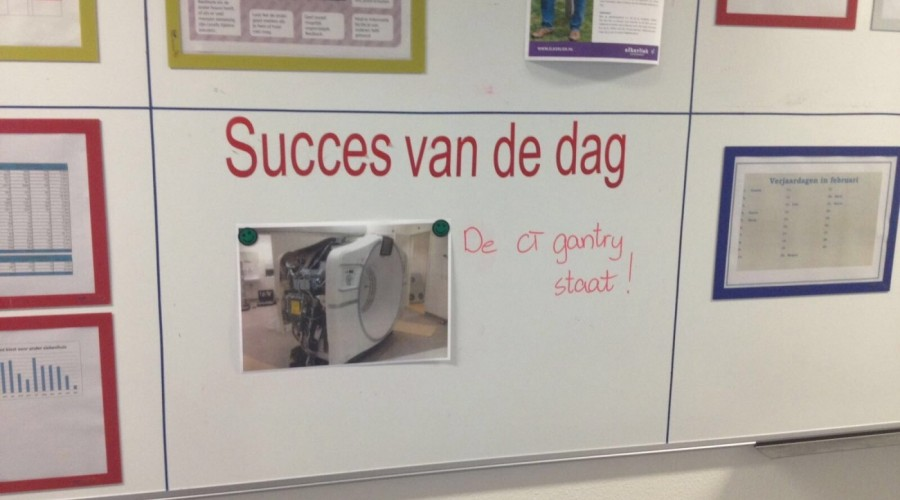 """Part of the """"Success of the day"""""""