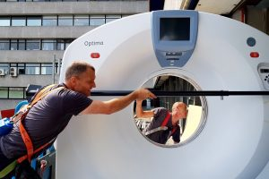 CT delivery in Amsterdam in optima forma